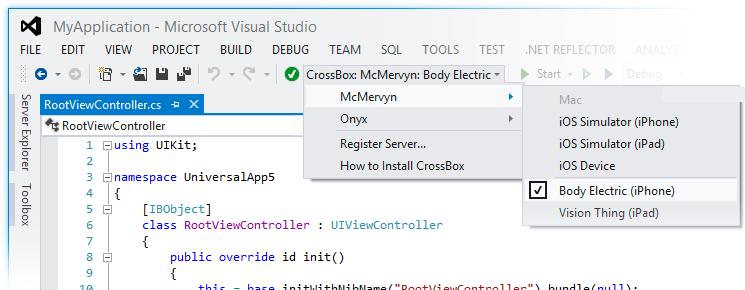 Elements in Visual Studio | Elements
